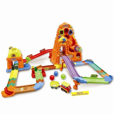 VTECH Tchou Tchou Bolides - Circuit train Canyon Express - multicolore