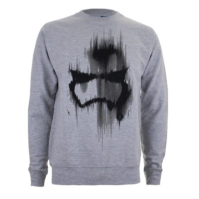 Trooper Mask - Sweat-shirt - gris