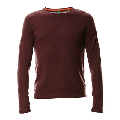 BENETTON Pull - bordeaux