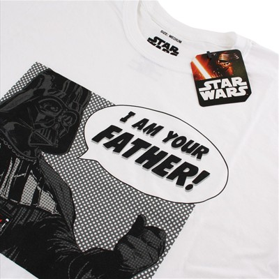 Vader Father - T-shirt - blanc