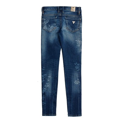 GUESS KIDS Jegging - bleu