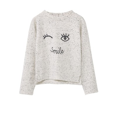 MANGO KIDS Sweat - gris