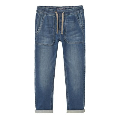 MANGO KIDS Jean droit - denim bleu