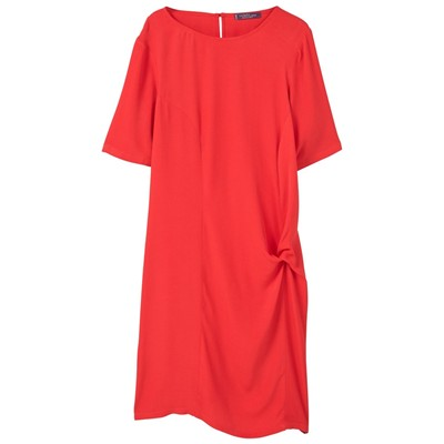 Robe blousante - rouge