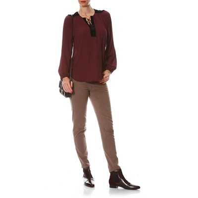 BEST MOUNTAIN Blouse - bordeaux