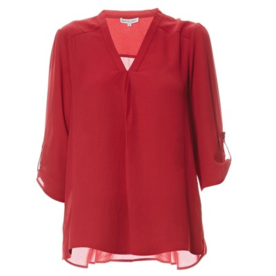 Best Mountain blouse - cerise