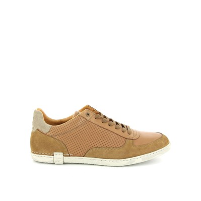Dabster - Baskets en cuir - cognac