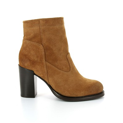 Holcomb - Bottines en cuir - caramel