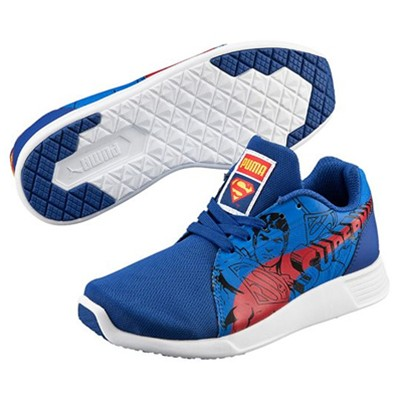 PS ST TRAINER SUPERMAN - Baskets - bleu