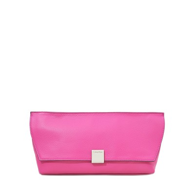 Kate - Pochette en cuir - rose