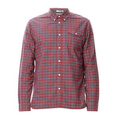 PEPE JEANS LONDON Manganese - Chemise à carreaux - rouge
