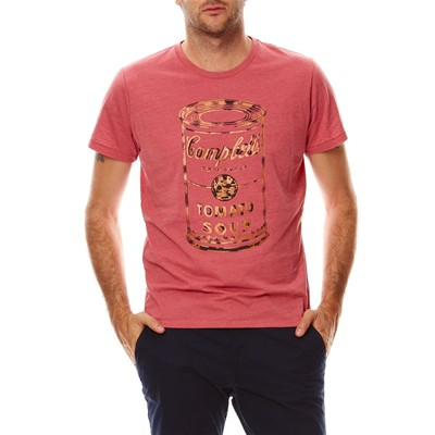 PEPE JEANS LONDON Joe - T-shirt - vieux rose