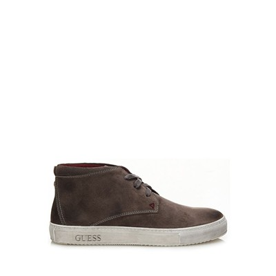 GUESS Bottines en cuir - gris
