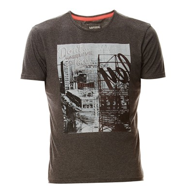 KAPORAL Danny - T-shirt - anthracite