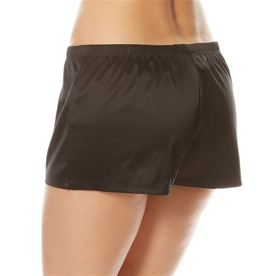 LA PERLA Short aspect satiné - noir