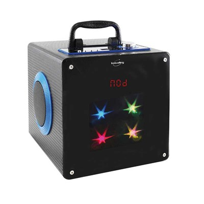 Inovalley Enceinte lum bluetooth - multicolore