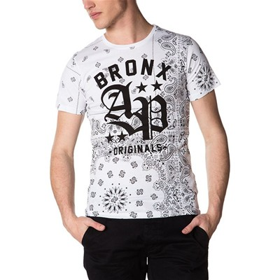 American People collins - t-shirt manches courtes - blanc