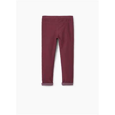 MANGO KIDS Legging - pourpre