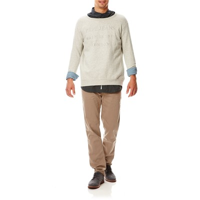 PEPE JEANS LONDON Bert - Pantalon chino - taupe