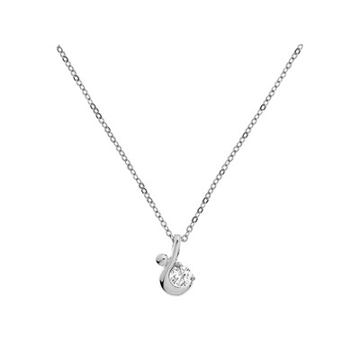 Collier en argent 925 - multicolore