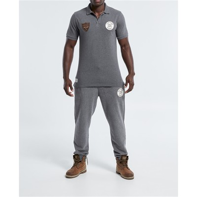 RUGBY DIVISION Legacy - Pantalon jogging - gris chine