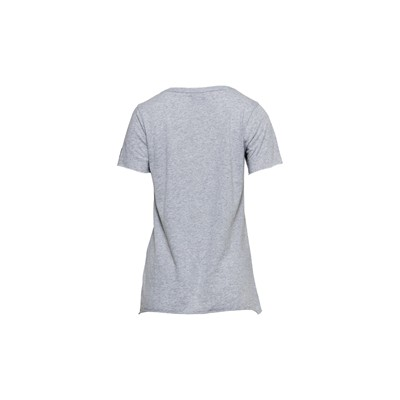 V-Neck Power - T-shirt - gris chine