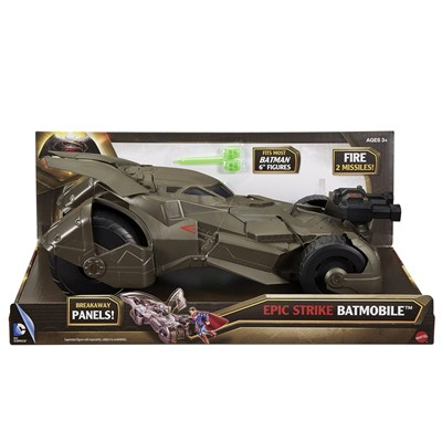 MATTEL BATMAN VS SUPERMAN - Batmobile de luxe - multicolore