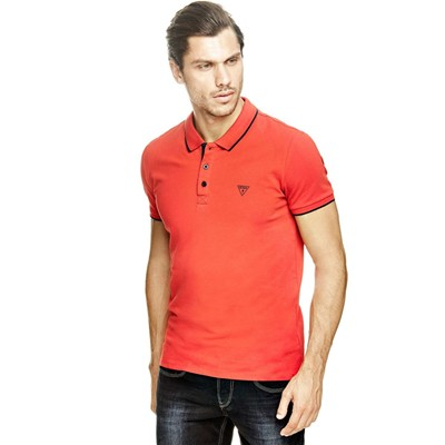GUESS Polo - rouge