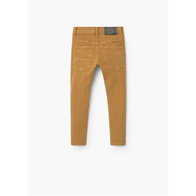 MANGO KIDS Jean slim - moutarde