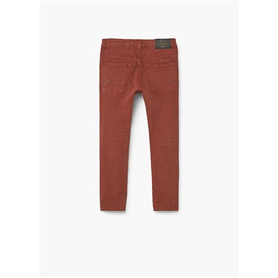 MANGO KIDS Jean slim - orange