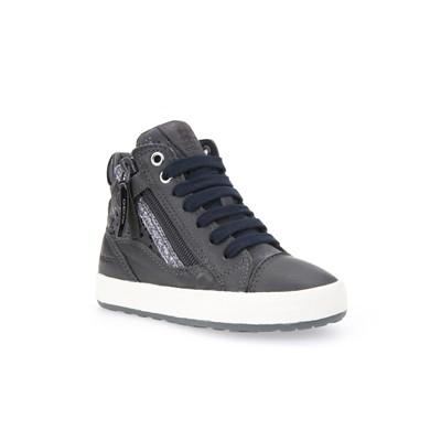GEOX Witty - Baskets montantes - gris
