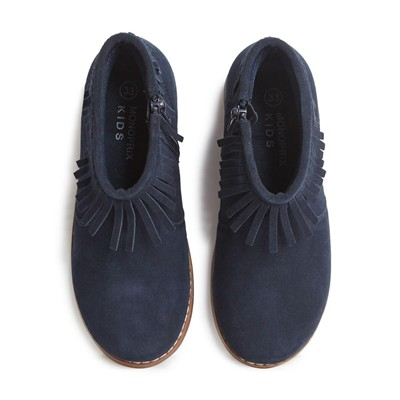 MONOPRIX KIDS Bottines - bleu marine