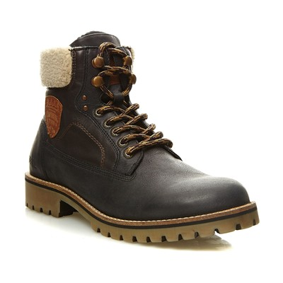 KAPORAL SHOES Hunter - Boots en cuir - noir