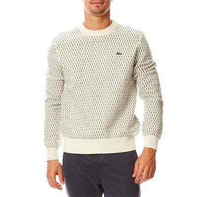 LACOSTE AH9283 - Pull - blanc