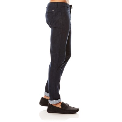 JOE RETRO Zamus - Pantalon chino - bleu
