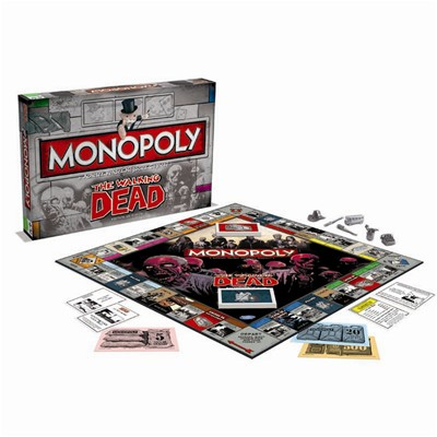 WINNING MOVES The walking dead - Monopoly - multicolore