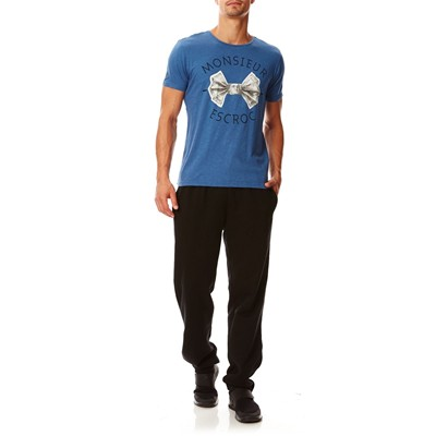 KAPORAL David - T-shirt - bleu