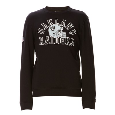 NEW ERA Raiders - Sweat en coton mélangé - noir