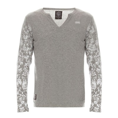 HOPE N LIFE Kamui - T-shirt manches longues - gris clair