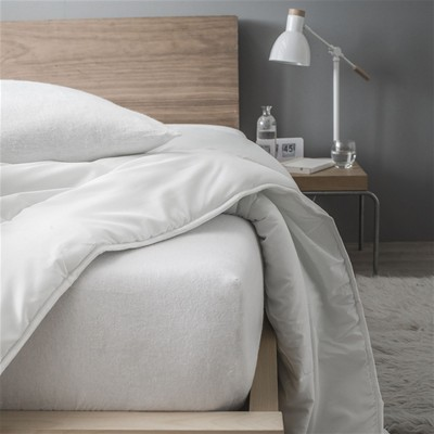 Drap housse Protection - blanc