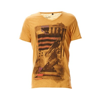 T-shirt - moutarde