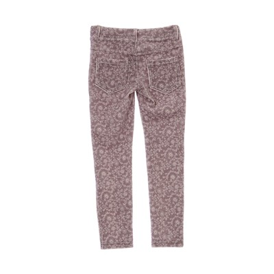 BENETTON Legging en velours côtelé - gris clair