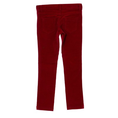 BENETTON Pantalon en velours côtelé - rose