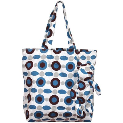 PERIGOT Kadeiloscope - Sac shopping - prune