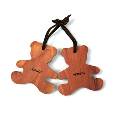 PERIGOT Lot de 2 figurines ours - marron
