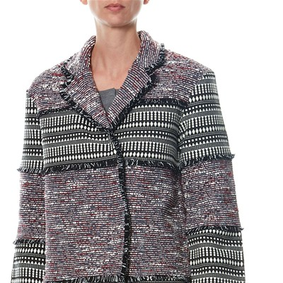 Connection Bicolore Cappotto Etnica French Con Stampa YxfUwnTqnp