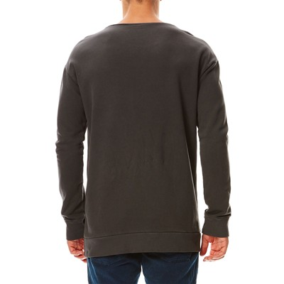 BENETTON Sweat en coton - gris
