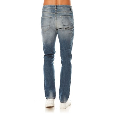 BENETTON Jean slim low crotch - bleu
