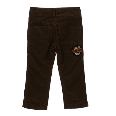 BENETTON Pantalon en velours côtelé - marron