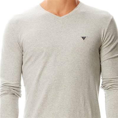 GUESS Plain - T-shirt - gris